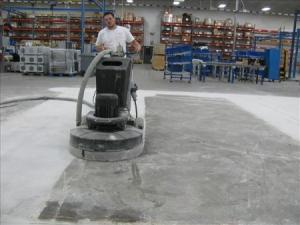 Diamond Polishing Concrete in Florida by SafeDry